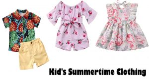 Recommendations For Purchasing Kid's Summertime Clothing
